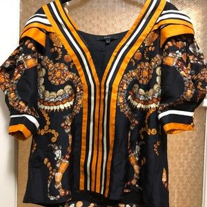 Gucci Tops - AUTH Vintage GUCCI 🤩 Shell Print Silk Top 38 S